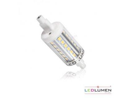 Ledlumen LED 4W - R7s náhrada malé halogenové trubice 36xSMD2835 78mm CCD Studená