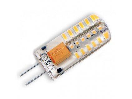 Ledom LED žárovka 3W 48xSMD3014 G4 240lm CCD Silikon Teplá