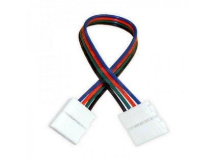 Spojka CLICK pro RGB LED pásky o šířce 10mm s vodičem