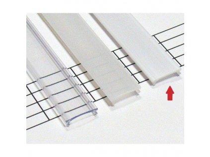 Mléčný difuzor KLIK pro profily LUMINES A/B/C/D/Y/Z 1m