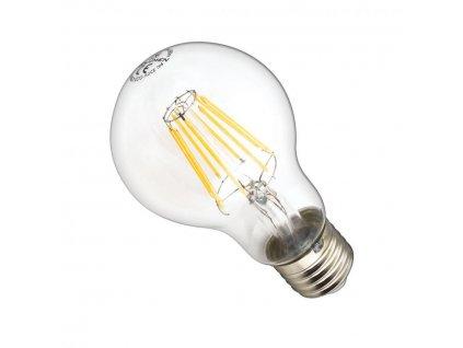 Ledlumen LED žárovka 8W 8xCOS Filament E27 890lm CCD Teplá