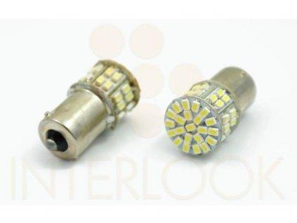 Interlook LED autožárovka BA15S 50 SMD 1206 Py21W
