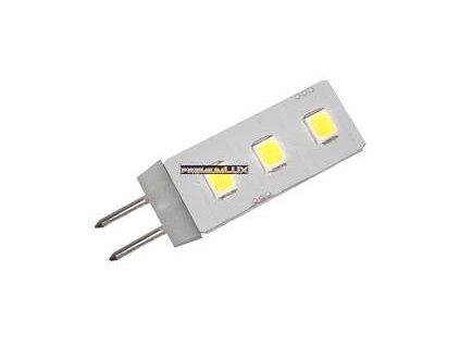PremiumLED LED žárovka 0.5W 3xSMD G4 50lm Teplá