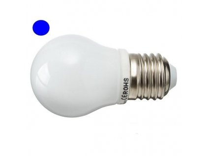 PremiumLED LED žárovka 2,5W 8xSMD2835 E27 200lm Modrá