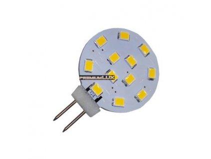 PremiumLED LED žárovka 2W 12x2835 G4 200lm Studená