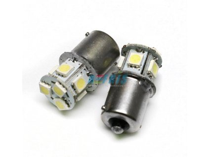 Interlook LED auto žárovka BAU15S 8 SMD 5050 Py21W
