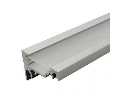 Rohový hliníkový profil CORNER 1m pro LED pásky, ALU lišta