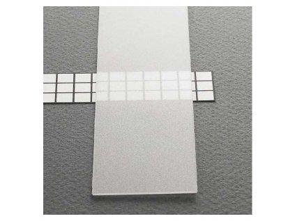 Transparentní difuzor pro profil SLIM 1m