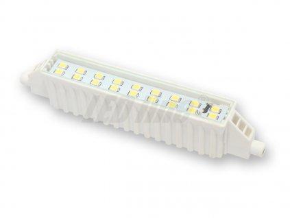 Ledin LED 6W R7s náhrada velké halogenové trubice 118mm teplá bílá