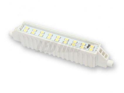 Ledin LED 6W R7s náhrada velké halogenové trubice 118mm studená bílá