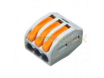 PremiumLED Wago svorka 3 x 0,8-2,5mm 222-413