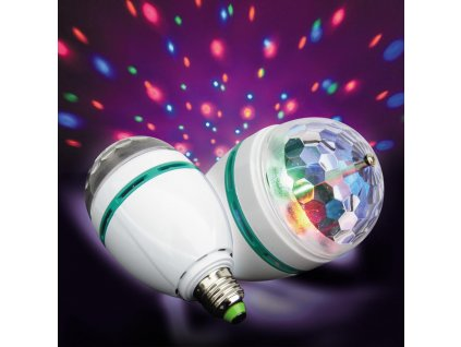 Berge LED ATMOSPHERE LAMP E27 3W RGB