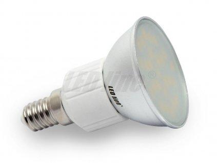 Ledin LED žárovka 5W 27xSMD E14 350lm Teplá bílá