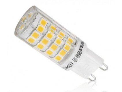 Ledspace LED žárovka 5W 51xSMD2835 G9 500lm Neutrální