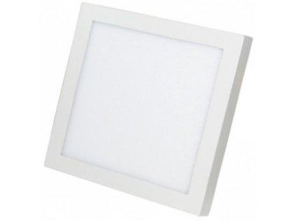 Berge LED panel přisazený 12W, 860lm, 170x170mm, 230V, CCD studená