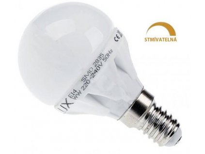 Ledspace LED žárovka 8W 13xSMD2835 E14 720lm Teplá bílá Stmívatelná
