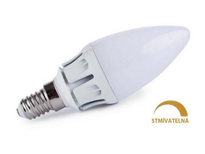 Ledspace LED žárovka 7W 13xSMD2835 E14 630lm Teplá Stmívatelná