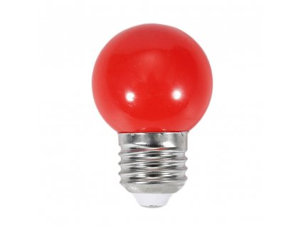 oobest 220v e27 0 5w led mini ball light bulb red energy saving party globe lamp[1][1]