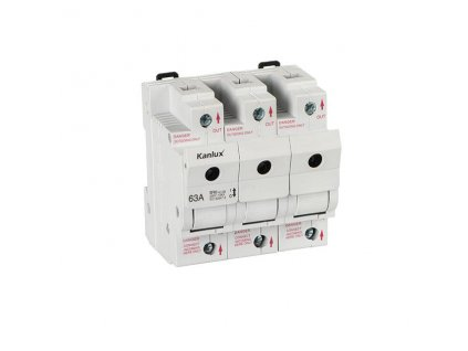 Kanlux 23343 KSF02-63-3P   Pojistkový držák do rozvaděče