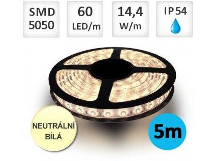 smd5050 led pasek neutral silikon 5m[1]