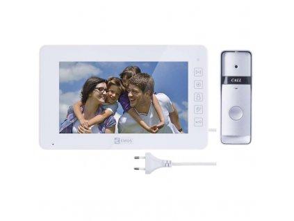 Domácí videotelefon EMOS, barevná sada, H2015