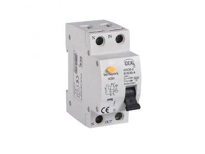 Kanlux 23212 KRO6-2/B16/30A   Kombinace jistič-proudový chránič