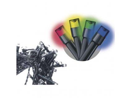 Spojovací řetěz 100 LED, 10m, multicolor