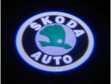 LED logo projektor ŠKODA OCTAVIA II 2