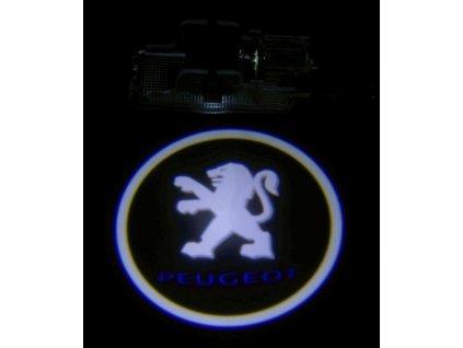 LED logo projektor Peugeot 206 207 306 307 406 408 508 607 807 5008 RCZ