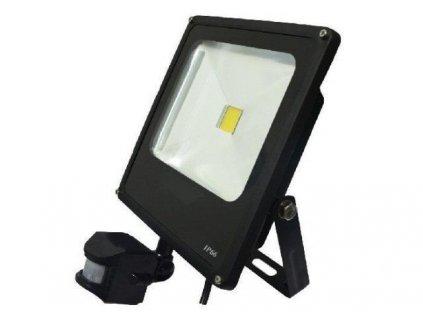 LED reflektor NOCTIS 2 50W SMD2835 PIR 3400lm SLIM Teplá