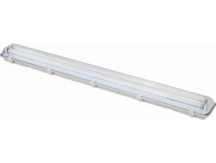 Prachotěsné svítidlo pro LED trubice T8 2 x 60cm