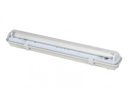KOMPLET Prachotěsné svítidlo +1 LED trubice T8 16W 120cm STUDENÁ