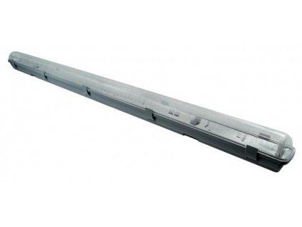 KOMPLET Prachotěsné svítidlo +1 LED trubice T8 22W 150cm TEPLÁ