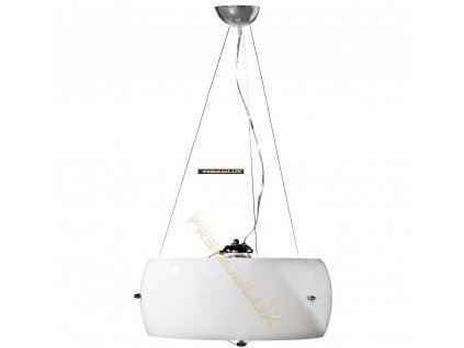 Stropní závěsné svítidlo LIDIA 400x1500mm 3xE27 transparentní sklo, kov
