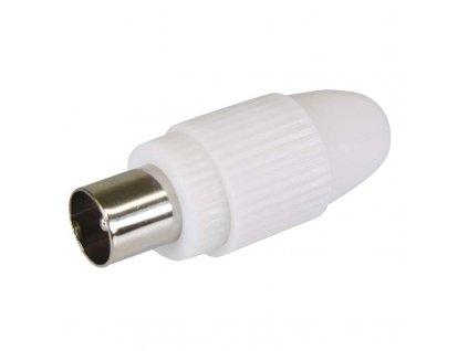 Konektor IEC vidlice šroubovací rovný