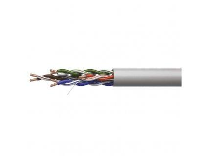 Datový kabel UTP CAT 5E CCA PVC, 1m