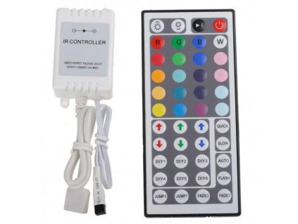 PremiumLED RGB kontroler s ovladačem pro LED pásky 72W, 44 tlačítek