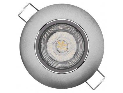 LED bodové svítidlo Exclusive stříbrné, 5W neutrální bílá