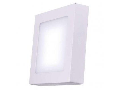 LED panel 170×170, přisazený bílý, 12W neutrální bílá