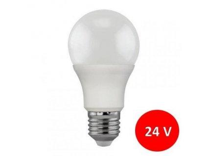 LED žárovka 24V 7W SMD2835 770lm E27 CCD Teplá