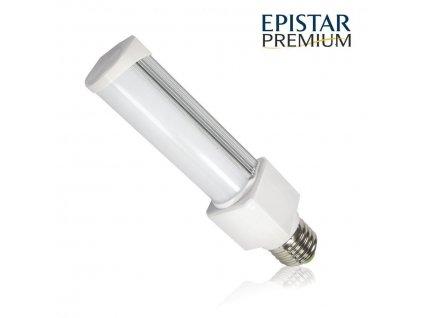LED žárovka PLC E27 PREMIUM 8W 11xSMD2835 780lm CCD Teplá