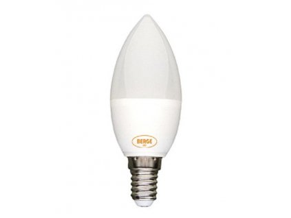 LED žárovka 6W 8x2835 E14 590lm, CCD Teplá