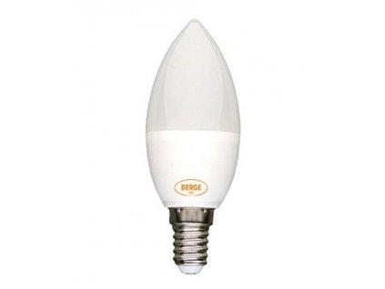 LED žárovka 6W 8x2835 E14 590lm, CCD Neutrální