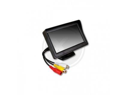 """LCD monitor ve zpětném zrcálku pro couvací kamery  4.3"""""""