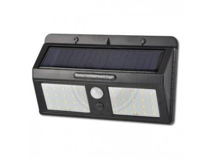 LED21 Solární LED reflektor PIR 22W SMD2835 1760lm ULTRA SLIM Neutrální