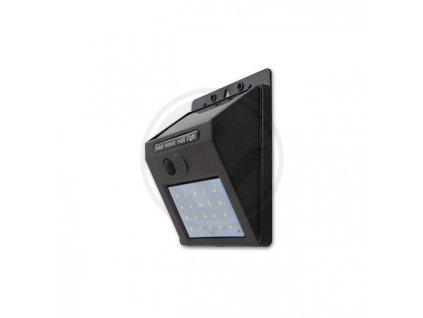 LED21 Solární LED reflektor se soumrakovým čidlem 11W SMD2835 880lm ULTRA SLIM Neutrální