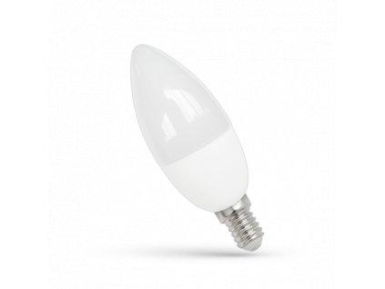 LED21 LED žárovka 8W 12xSMD2835 E14 620lm Teplá