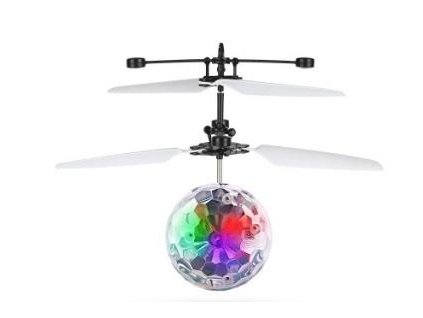 LED21 AG362D LED RGB UFO HELI BALL létající koule se senzorem