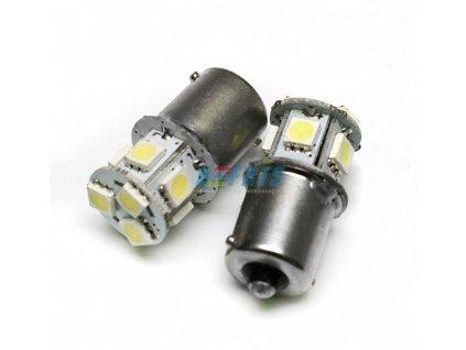 Interlook LED autožárovka BA15S P21W 8 SMD 5050