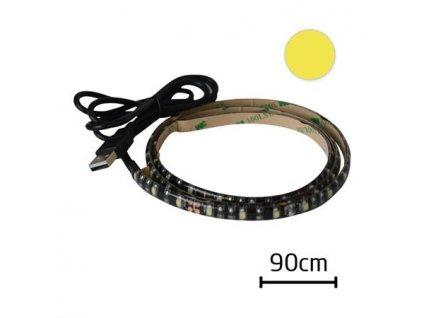 LED21 LED pásek Geti GLS34W za TV 90cm 5V USB konektor, Teplá